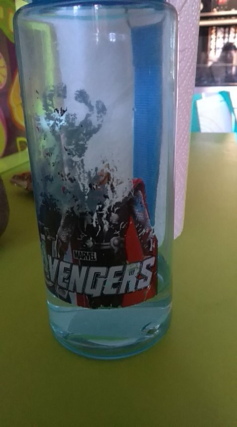 1pc 550ml Cartoon The Avengers Water Bottles Drinking cup Vacuum kids cups Eco friendly PP Plastic Bottle for kids boy Girl-in Water Bottles from Home & Garden on AliExpress