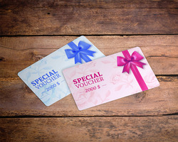 Discount Gift PVC cards business plastic membership cards 0.76mm thickness MOQ 5 pcs