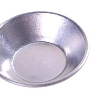 Image 5 - 6 pçs bolo de bolo de bolo de bolo de bolo de bolo de bolinho de alumínio forrado molde estanho ferramenta de cozimento ping tart redonda molde de cozinha de alumínio bakeware