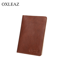 Funda de pasaporte y tarjetero OXLEAZ OX2055