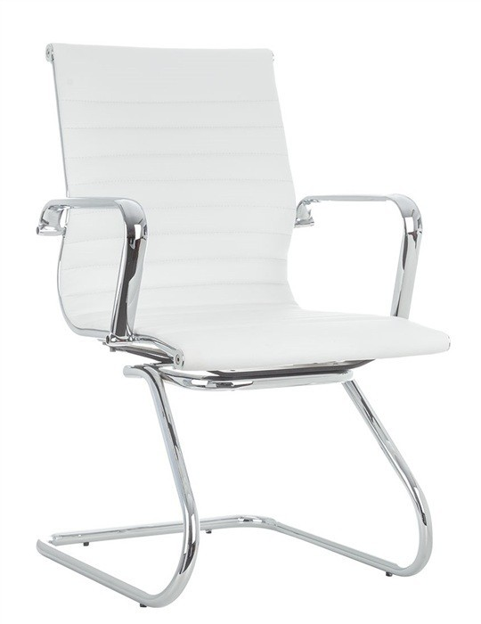 Office Armchair ALABAMA Fixed Similpiel White