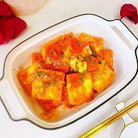 """#美食说出""""新年好""""#茄汁鸡蛋豆腐的做法图解17"""