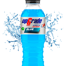 BENEDETTO UPGRADE BLUE isotonic drink for sportsmen with water and mineral salts. Contains 12 PCs of 500 ml. Each one