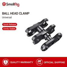 SmallRig Ballhead Clamp For Articulating Magic Arm Ballhead Extension Bar With NATO Clamp/Arri Locating Pins   2134