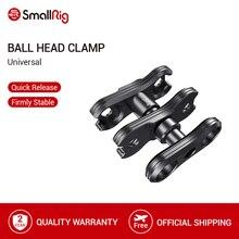 SmallRig Ballhead Clamp Voor Scharnierende Magic Arm Balhoofd Extension Bar Met NATO Klem/Arri Lokaliseren Pins 2134