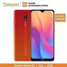 Globale Version Xiaomi Redmi 8A 32GB ROM 2GB RAM (NEUESTE EINGETROFFEN!!) 8a 32gb Smartphone Mobile