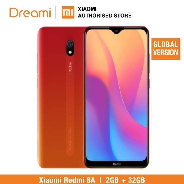 Глобальная версия Xiaomi Redmi 8A 32 ГБ ROM 2 Гб RAM (Последние поступления!) 8a 32 Гб Мобильный смартфон, телефон, смартфон