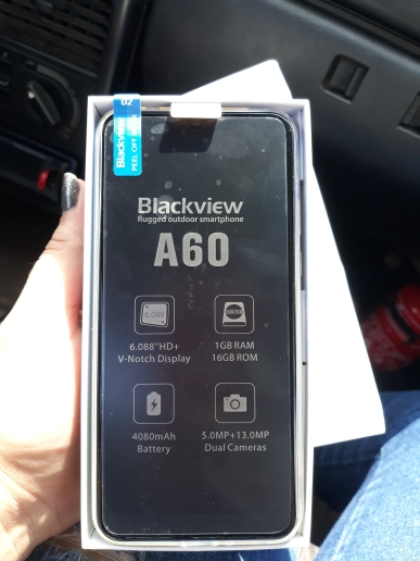 Blackview A60 3G Mobile Phone Android 8.1 Smartphone Quad Core 4080mAh Cellphone 1GB+16GB 6.1 inch 19.2:9 Screen Dual Camera Cellphones    - AliExpress