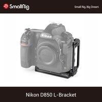 SmallRig D850 L Bracket Plate for Nikon D850 Camera Arca Swiss Type Quick Release Tripod Shooting L Plate Kit 2232