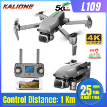 L109 Drone 4K Met Hd Camera Gps 5G Wifi Quadcopter Drone Profissional Quadrocopter Dron Borstelloze Motor Drones 1000M Vs SG907(China)