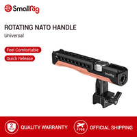SmallRig 360 Degree Rotating Nato Clamp Handle With Cold Shoe Mount For Cage or Accessory With NATO compatible Rail 2362