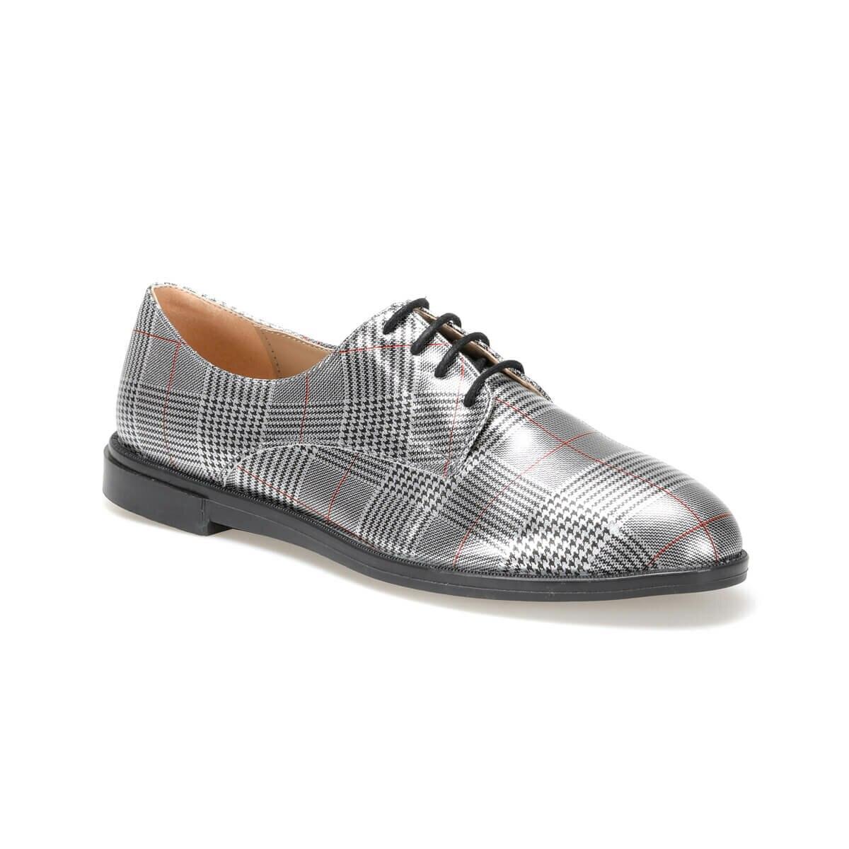 FLO CRABBE01Z PATENT LEATHER Gray Women 'S Oxford Shoes BUTIGO