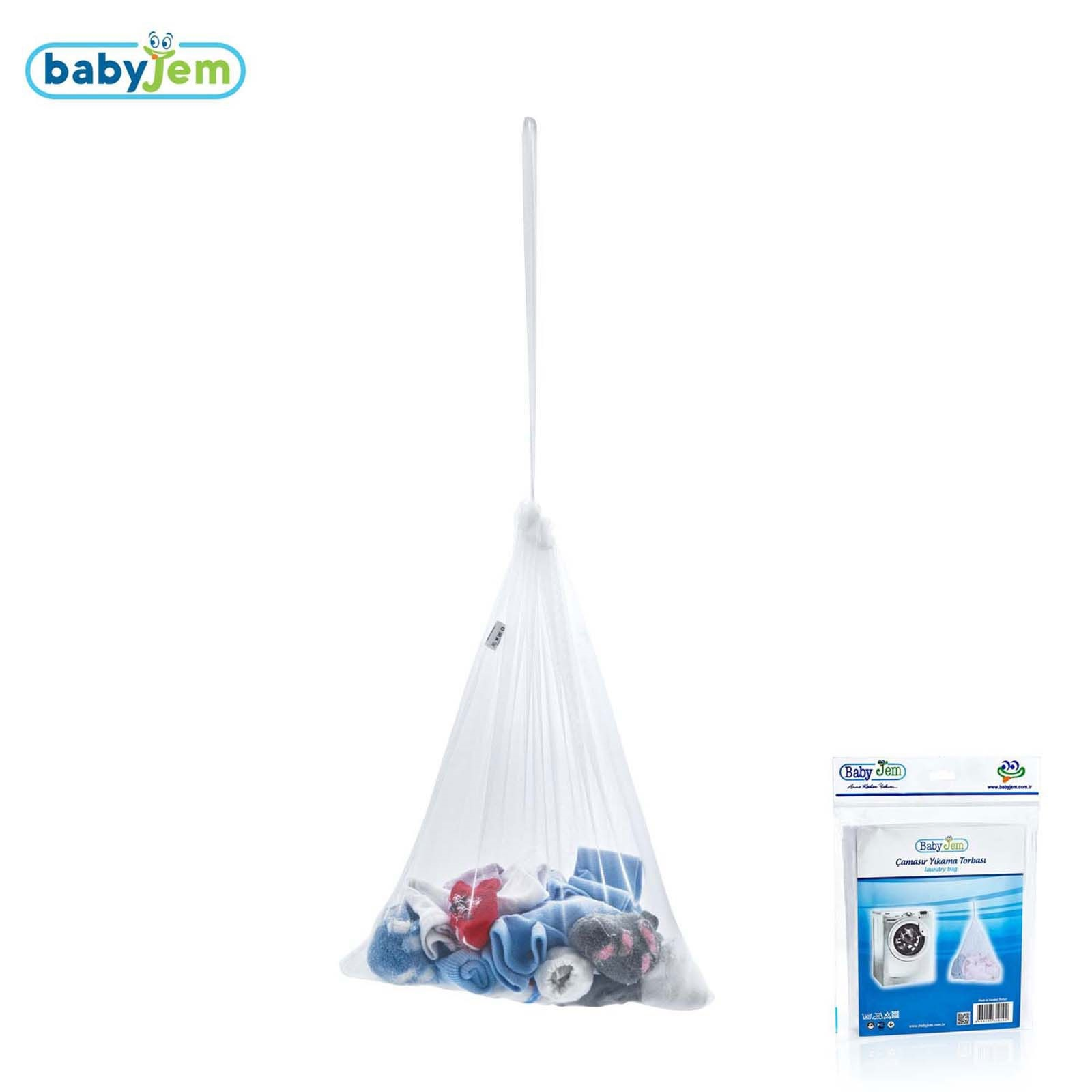 Ebebek Babyjem Baby Laundry Bag 46x36 Cm 1 Pcs White