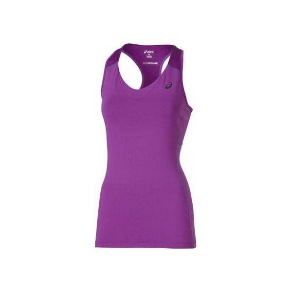 Женская майка Asics Racerback фиолетовая|Беговые футболки| | АлиЭкспресс