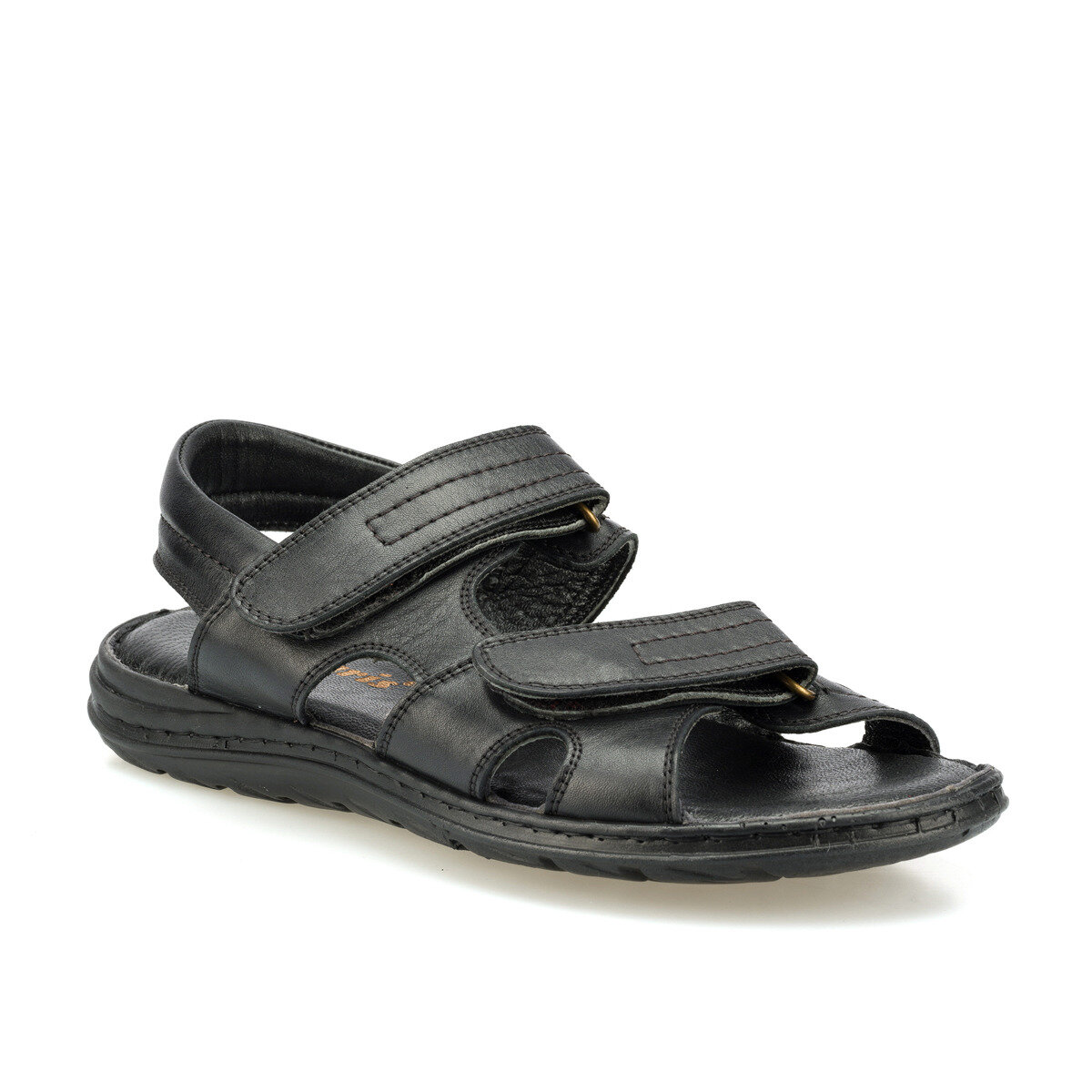 FLO 160267.M Black Male Sandals Polaris