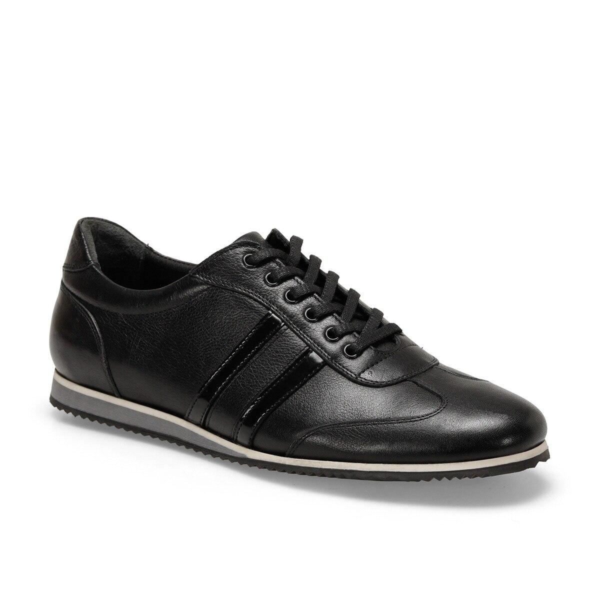 FLO Black Men Casual Shoes Lace-up Men Shoes Comfortable Breathable Walking Sneakers Tenis masculino Zapatillas Hombre Oxide 132 C