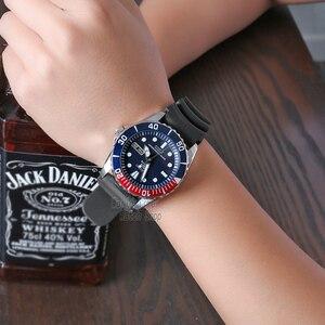 Image 5 - セイコー腕時計メンズ 5 腕時計自動高級ブランド防水スポーツ腕時計日付メンズダイビング時計レロジオ masculin snzf