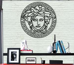 Office-Decoration Wall-Decor Medusa Metal Home Bedroom Greek Art Mythology-Art
