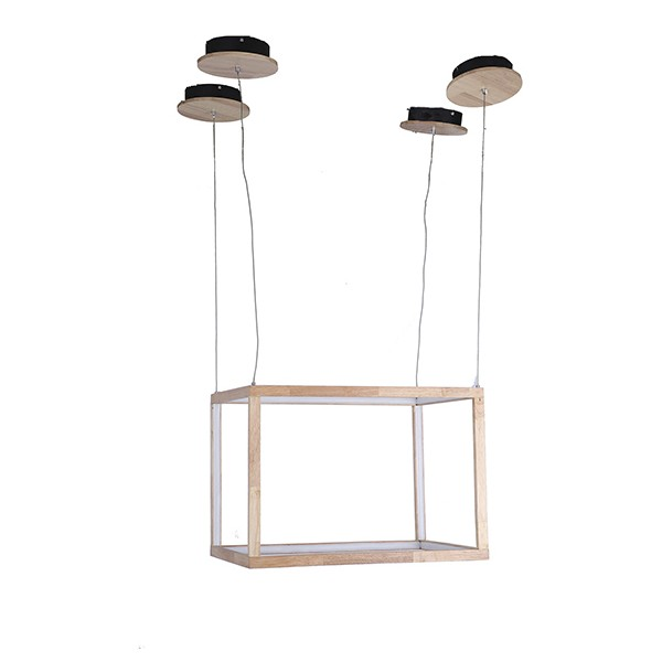Ceiling Light Rectangle Wood