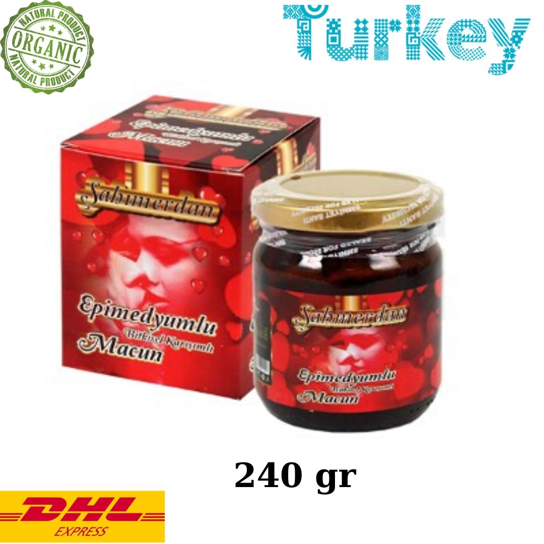 Sahimerdan Aphrodisiac Epimedium Mesir Paste 240 Gr – Turkish Macun- Horny Goat Weed
