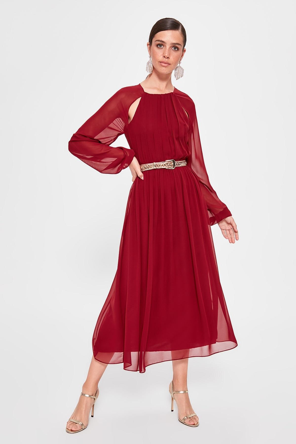 Trendyol Sleeve Detail Dress TPRAW20EL0869