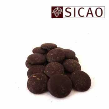 BLACK CHOCOLATE COATING