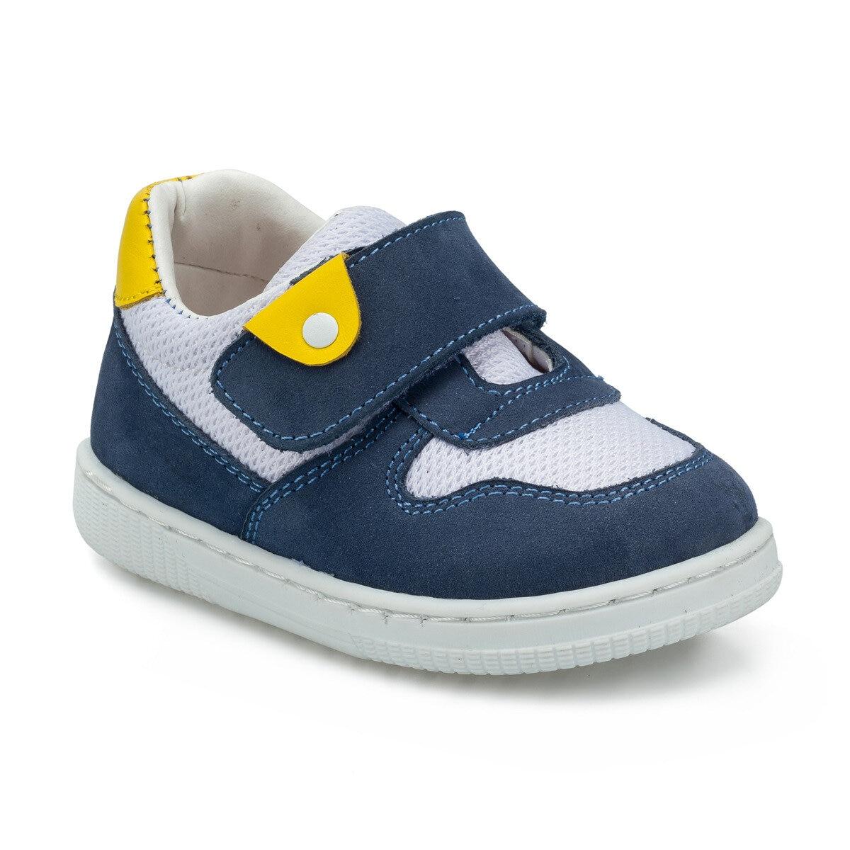FLO 512211.I Navy Blue Male Child Sneaker Shoes Polaris