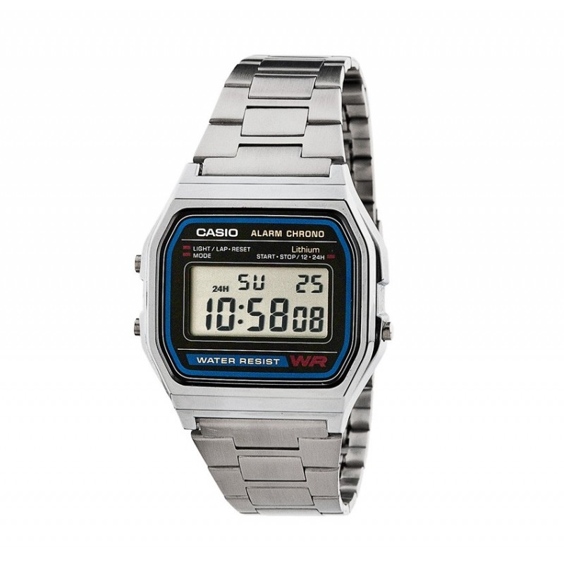 Casio Watche Man A158WA-1DF Steel