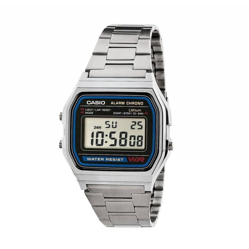 Casio Watche Man A158WA-1DF Steel