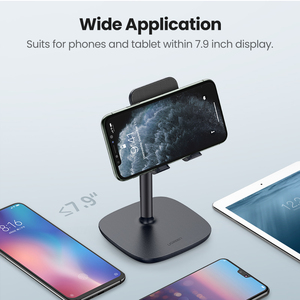 Image 4 - Ugreen Mobile Phone Holder Stand For iPhone X 8 7 6 Plus Desk Tablet Cell Phone Holder Stand Accessories For Xiaomi Phone Holder