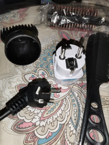 Professional 3200W/1400W Hot/Cold Air Blow Hair Dryer photo review
