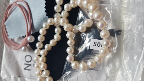 ASHIQI Real Natural Freshwater Pearl choker Necklace  White Near Round Pearl Jewelry Gifts for Women|jewelry necklace women|jewelry necklacejewelry for women - AliExpress