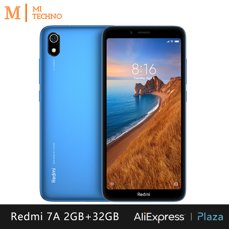 Smartphone Xiaomi Redmi 7A (2 go de RAM,32 go de ROM, téléphone mobile, livraison gratuite, neuf, pas cher, double SIM, batterie 4000mAh, android)[version mondiale]