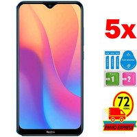 5x Protectors Screen Tempered Glass for for Xiaomi REDMI 8A (Not Full SEE INFO) KIT|Phone Screen Protectors| |  -