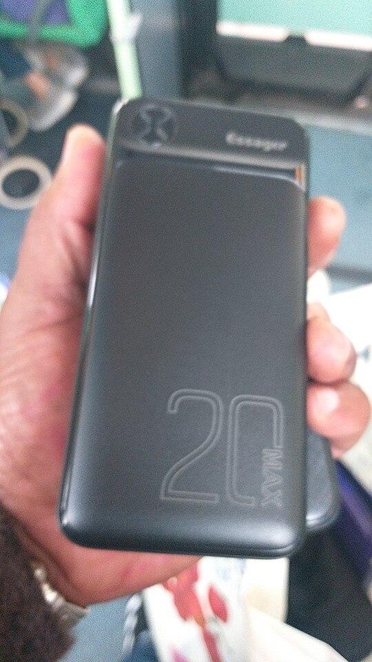 Power Bank 20000 mAh, batterie externe pour iPhone