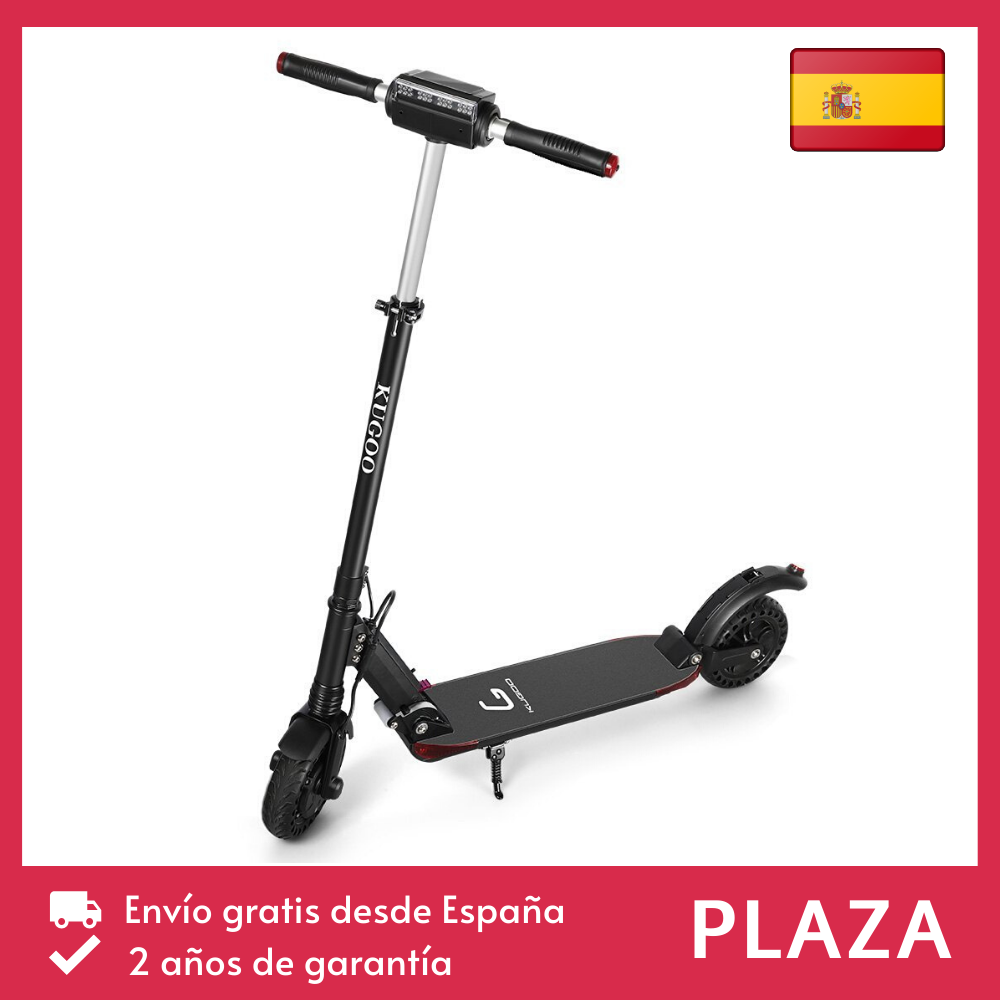[Spain] Kugoo S1 Pro patinete eléctrico scooter plegable 350W 25 KM/H normativa pantalla LCD mejor que M365 Dualtron PK Ninebot