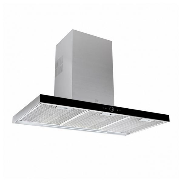 Conventional Hood Teka DLH986T 90 Cm 700 M3/h 72 DB 270W Stainless Steel Black