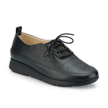 FLO 161009 Z czarne buty damskie Polaris tanie i dobre opinie Trzciny
