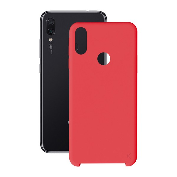 Mobil kapak Xiaomi Redmi 7 KSIX yumuşak kırmızı