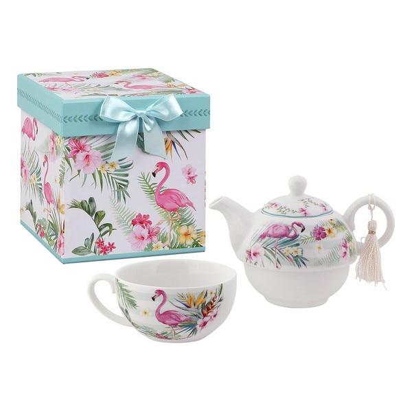 Toy Tea Set Tea For One 116113 Flamenco (3 Pcs)