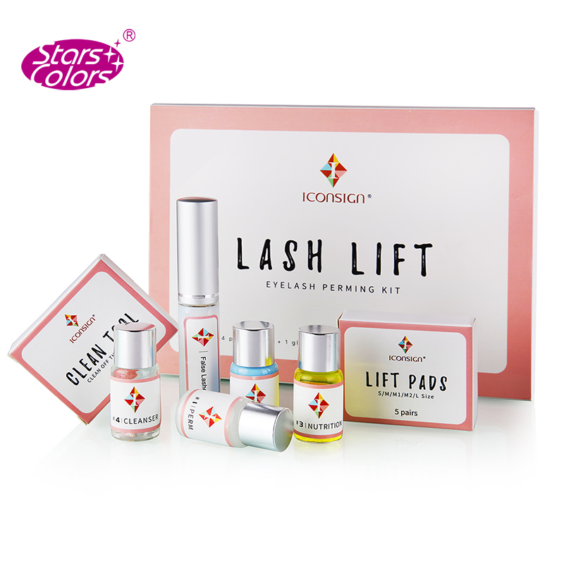ICONSIGN Lash-Lift-Kit Eyelash Perming-Kit Do-Your-Logo Ship Makeupbemine Can And By