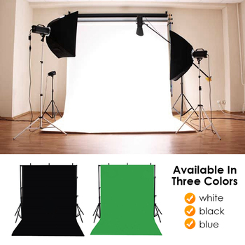 Foldable backdrop cloth color polyester plended fabric photo background studio photography screen chromakey black white green