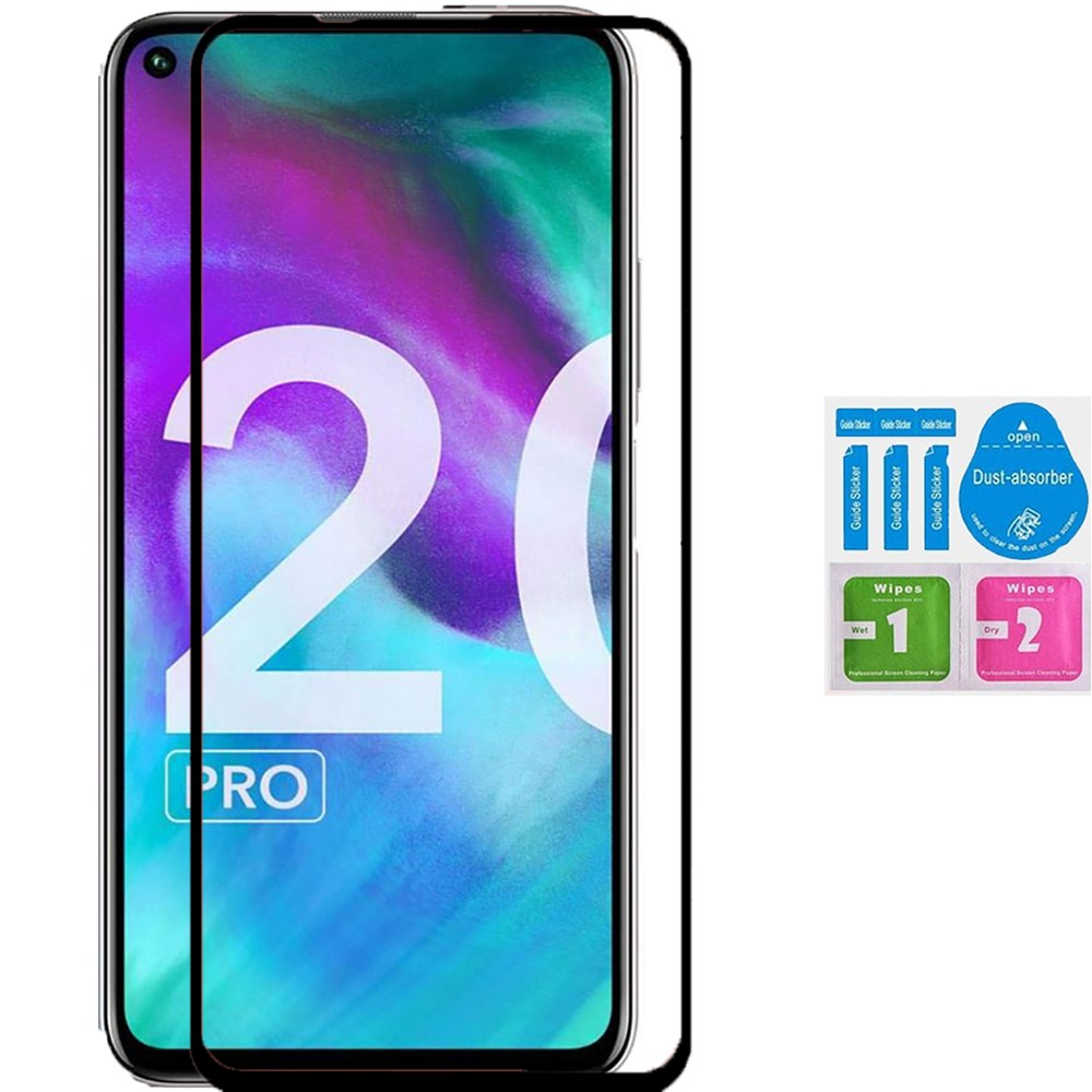 1x Protector Screen Full Tempered Glass For For HUAWEI HONOR 20 PRO Kit