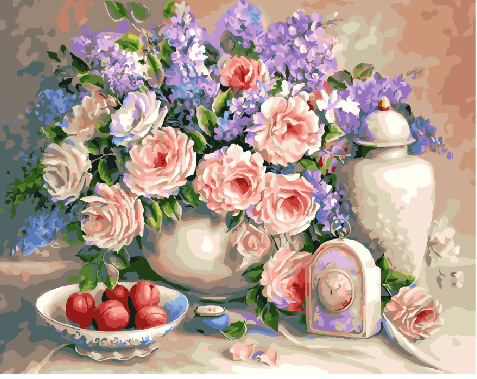 Picture By Numbers GX 29436 Lovely Still Life 40*50