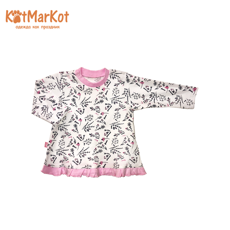 Фото - Blouses & Shirts Kotmarkot 7997 pullover jumper for boys and girls jackets  Cotton Girls Casual girls jackets