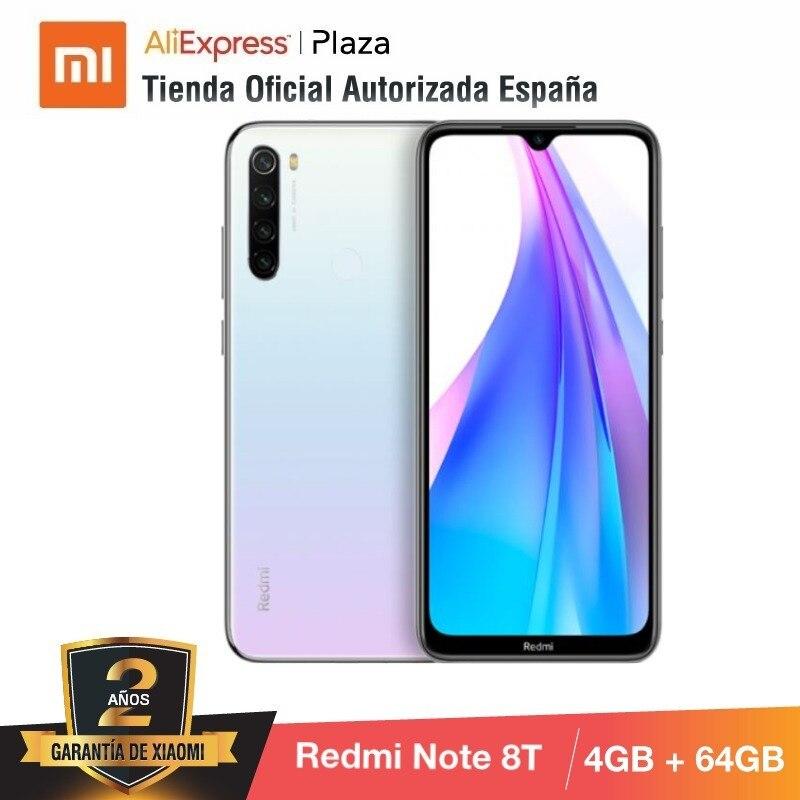 Note 8T (64GB ROM 4GB RAM, 13MP Frontal Cámara, Batería De 4000 MAh, Android, Nuevo, Libre) [Teléfono Movil Versión Global]