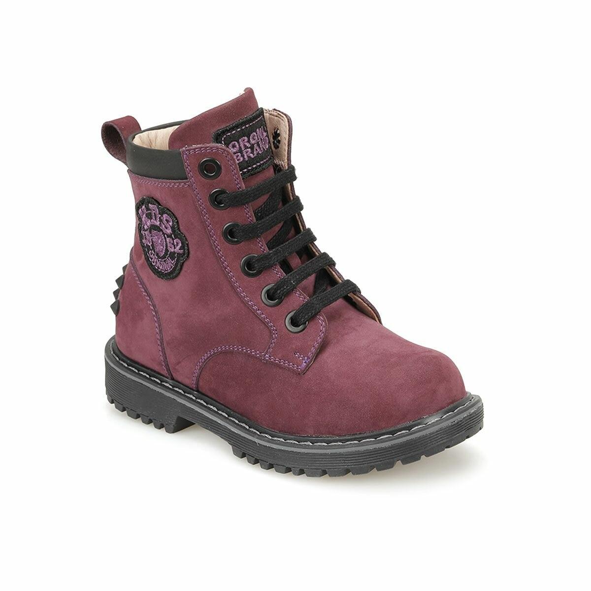 FLO 82. 510979.P Purple Female Child Sneaker Shoes Polaris