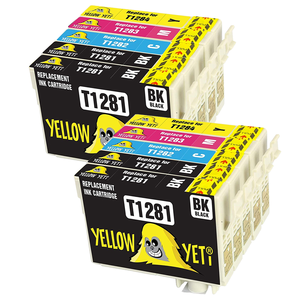 Compatible EPSON T1285 Ink Cartridges T1281 - T1284 for Epson Stylus SX125 SX130 SX230 SX235W SX420W SX425W S22 SX440W Printer