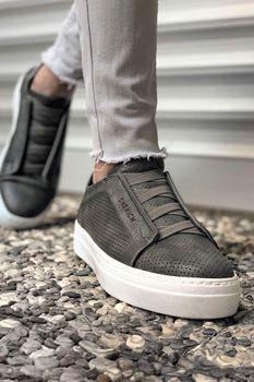 Chekich CH011 BT Grey Men Sneakers chekich ch254 bt 308 yellow navy men s sneakers