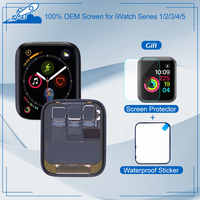 100% pantalla OEM para Apple Watch Series 5 4 3 2 1 LCD pantalla táctil pantalla OLED digitalizador montaje completo para iWatch 38mm 42mm 44mm